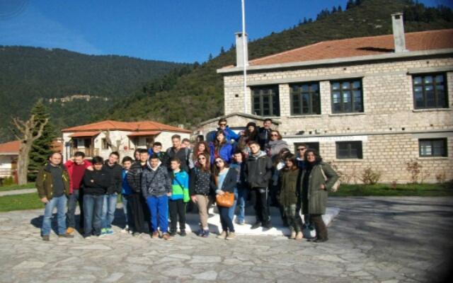 Μαθητές του 4ου ΓΕΛ Βέροιας στο Καρπενήσι