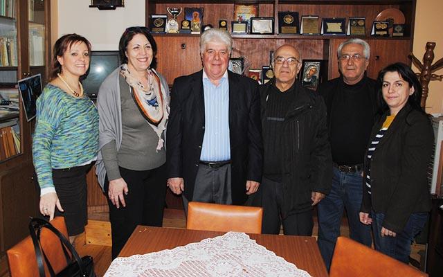 Την Θρακική Εστία Βέροιας επισκέφθηκε ο υποψήφιος δήμαρχος Βέροιας Χρήστος Σκουμπόπουλος