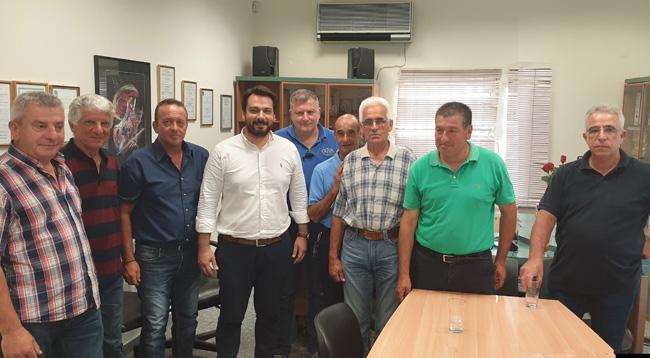 Θερμή υποδοχή για τον Τάσο Μπαρτζώκα στη Νάουσα και θετικά σχόλια για την λειτουργία γραφείου στην πόλη. Επίσκεψη στον  ΑΣΕΠΟΠ Νάουσας