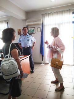 Επίσκεψη υποψ. βουλευτών του ΚΚΕ στην Αστυνομική Διεύθυνση Ημαθίας