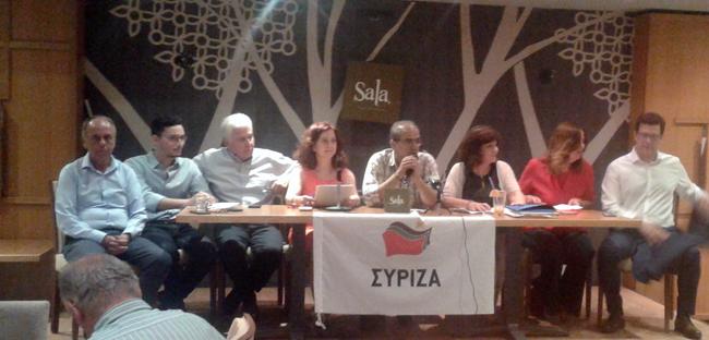 Παρουσιάστηκε το ψηφοδέλτιο του ΣΥΡΙΖΑ στην Ημαθία
