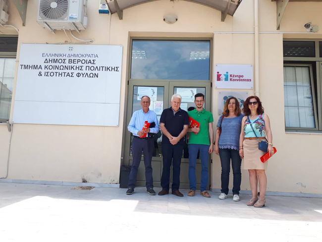 Περιοδεία υποψήφιων βουλευτών Ημαθίας του ΣΥΡΙΖΑ ΠΡΟΟΔΕΥΤΙΚΗ ΣΥΜΜΑΧΙΑ
