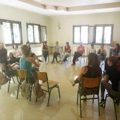 Συνάντηση φορέων στο camp προσφύγων της Αγίας Βαρβάρας
