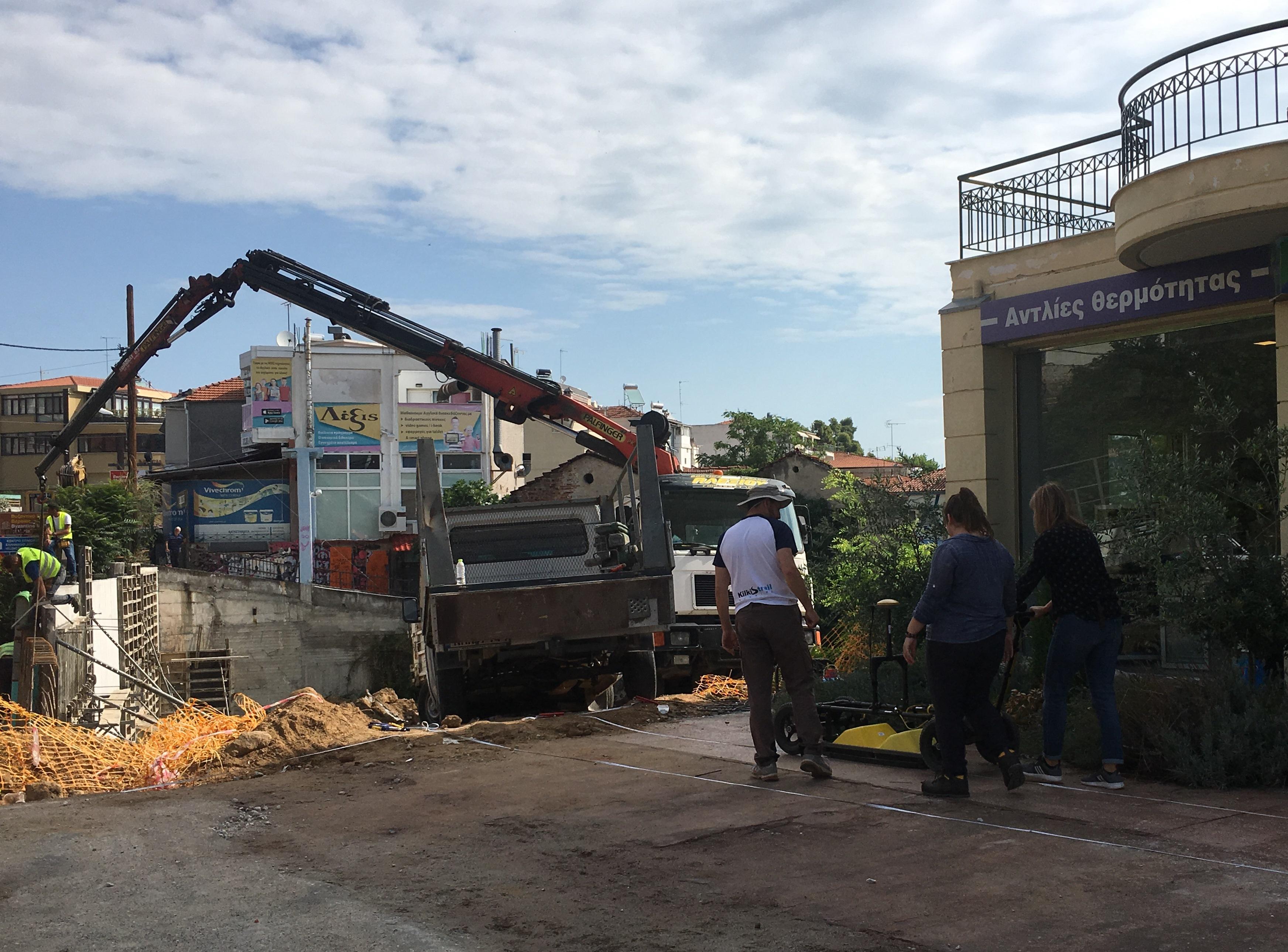 Δήμος Βέροιας: Προχωρούν με εντατικούς ρυθμούς οι εργασίες διαπλάτυνσης της οδού Πιερίων