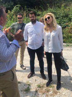 Ο Τάσος Μπαρτζώκας σε σύσκεψη με την υφυπουργό Αγροτικής Ανάπτυξης Φωτεινή Αραμπατζή. Δίκαιη αντιμετώπιση προς όλους και άμεσες ενέργειες