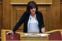 Φρόσω Καρασαρλίδου: Εθιμοτυπικές και χωρίς λύσεις οι συναντήσεις στο Υπουργείο για τα προβλήματα του αγροτικού τομέα