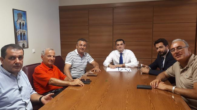 ΑΓΡΟΤΙΚΟΣ ΣΥΛΛΟΓΟΣ ΓΕΩΡΓΩΝ ΒΕΡΟΙΑΣ: Συνάντηση με τον Υφυπουργό Αγροτικής Ανάπτυξης Κωνσταντίνο Σκρέτα