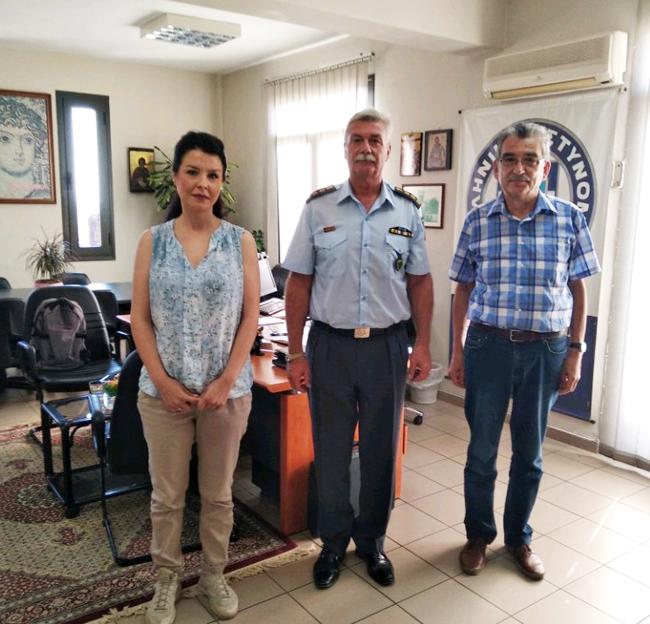 Πρωτοβουλία για το Παιδί: Συνάντηση με τον Αστυνομικό Διευθυντή Ημαθίας