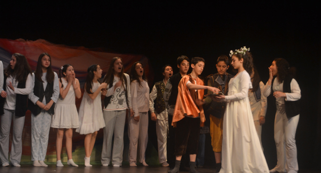 Εκδήλωση απονομών βραβείων & επαίνων: 2ος Θεατρικός διαγωνισμός γυμνασίων & λυκείων  Ημαθίας, Πιερίας &  Πέλλας.