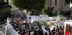 Πλήθος κόσμου αποχαιρέτησε τον Λαυρέντη Μαχαιρίτσα