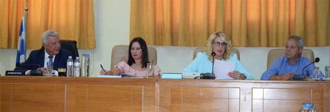 Το  νέο Προεδρείο του Δημοτικού Συμβουλίου Αλεξάνδρειας