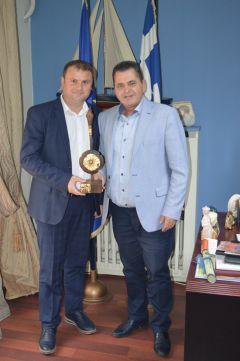 Ρουμάνικη αντιπροσωπεία στην Ημαθία