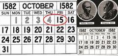 5 Οκτώβρη 1582: Η ημέρα που ..δεν υπήρξε ποτέ!