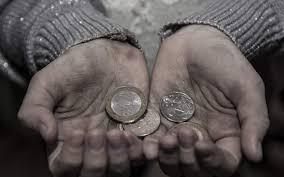 Φτώχεια...και κοροϊδία!