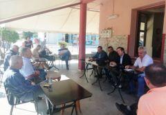 Τις Τοπικές Κοινότητες Επισκοπής, Αγγελοχωρίου και Ζερβοχωρίου  επισκέφθηκε ο Δήμαρχος Νάουσας Νικόλας Καρανικόλας