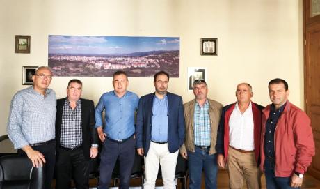 Συνάντηση Δημάρχου Βέροιας με τον Αγροτικό Σύλλογο Γεωργών Βέροιας
