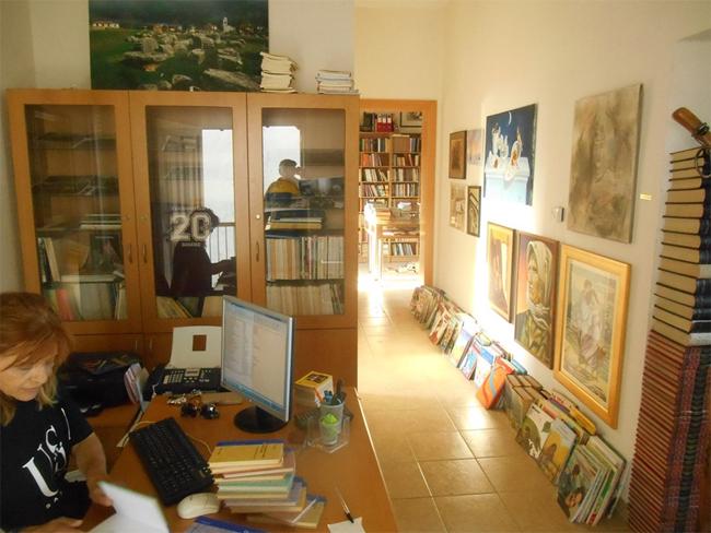 Βιβλιοθήκη Γιαννακοχωρίου 19 & 20 Οκτώβρη:  Με την ενόργανη Ευγενία Γιατζτιτζοπούλου, αντιτακτά!