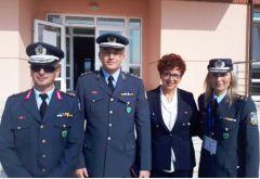 Η Αντιδήμαρχος Πολιτισμού εκπροσώπησε τον Δήμο Νάουσας σε άσκηση της Αστυνομικής Ακαδημίας