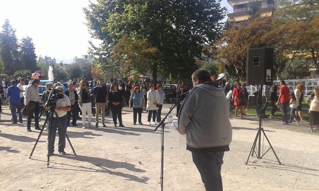Εκδήλωση για το ΟΧΙ του λαού και την απελευθέρωση της Βέροιας από τον ΕΛΑΣ