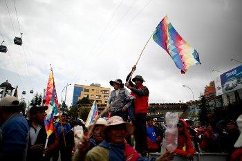 ΒΟΛΙΒΙΑ: Φουντώνει η λαϊκή αντίσταση στο πραξικόπημα