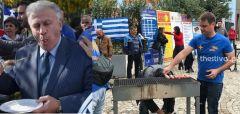 Τρεις φασίστες κάφροι και ο γραφικός ακροδεξιός «Ζορό» στο μπάρμπεκιου του μίσους