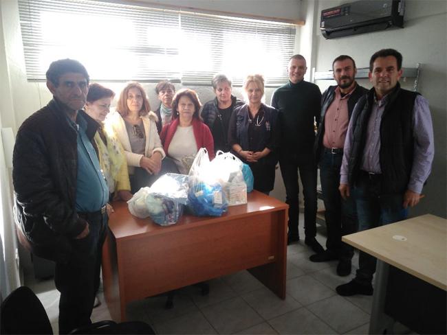 ΕΡΓΑΤΙΚΟ ΚΕΝΤΡΟ ΝΑΟΥΣΑΣ: Επίσκεψη στη δομή προσφύγων στην Αλεξάνδρεια