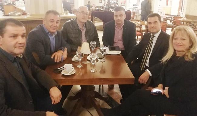 ΑΓΡΟΤΙΚΟΣ ΣΥΛΛΟΓΟΣ ΓΕΩΡΓΩΝ ΒΕΡΟΙΑΣ : Συνάντηση με τον  Κωνσταντίνο Σκρέκα