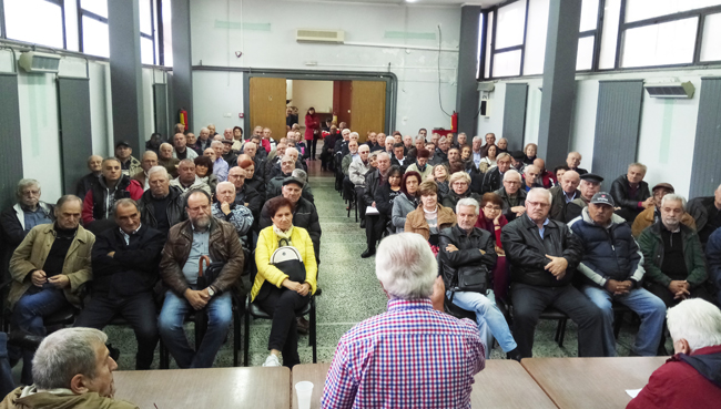 Περιφερειακή σύσκεψη συνταξιούχων