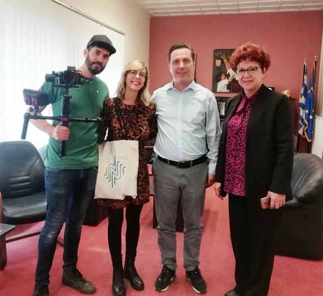 Επίσκεψη Γάλλων τουριστικών πρακτόρων και Βέλγων δημοσιογράφων στον Δήμο Νάουσας