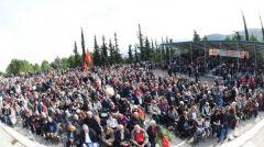 Σε αγωνιστικό κλίμα η εκδήλωση τιμής για την 77η επέτειο της ανατίναξης της γέφυρας του Γοργοπόταμου