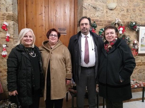 Επίσκεψη εργασίας της Λίνας Μενδώνη