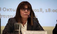 Σακελλαροπούλου: Με την πρόταση αυτή τιμάται η Δικαιοσύνη και η σύγχρονη Ελληνίδα