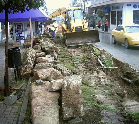 Και η αρχαία ρωμαϊκή οδός;