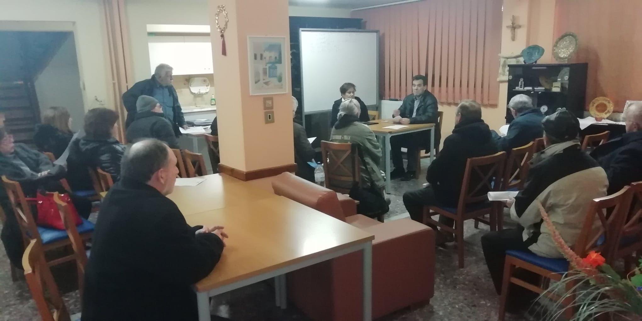 Σύσκεψη για το Ασφαλιστικό έγινε στη Βέροια