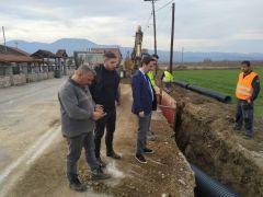 Ξεκίνησαν  τα έργα  αποχέτευσης και επεξεργασίας λυμάτων σε Κοινότητες του κάμπου της Νάουσας , προϋπολογισμού ύψους 5,4 εκατ. ευρώ