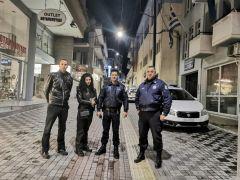 Μικτό κλιμάκιο της Δημοτικής Αστυνομίας Βέροιας και του Αστυνομικού Τμήματος για την εφαρμογή των διατάξεων του αντικαπνιστικού Νόμου