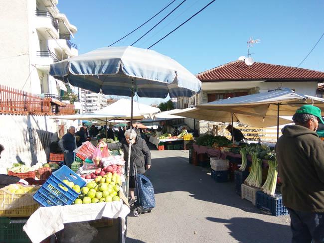 Κανονικά σήμερα η Λαϊκή Αγορά στη Βέροια