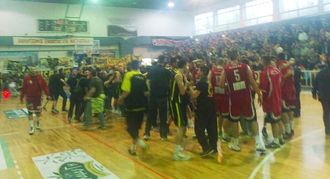 Γιόρτασε η ΑΕΚ στη Βέροια την άνοδο στην Α1 στο μπάσκετ
