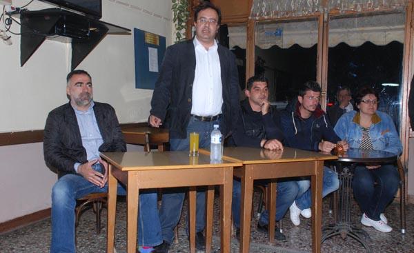 O K.Βοργιαζίδης στην Συκία και στα παλατίτσια