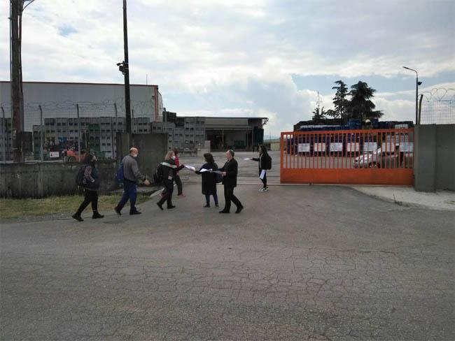Παρεμβάσεις σε VENUS στη Βέροια και  στην ΑΛΜΗ ΑΕ  στην Αλεξάνδρεια
