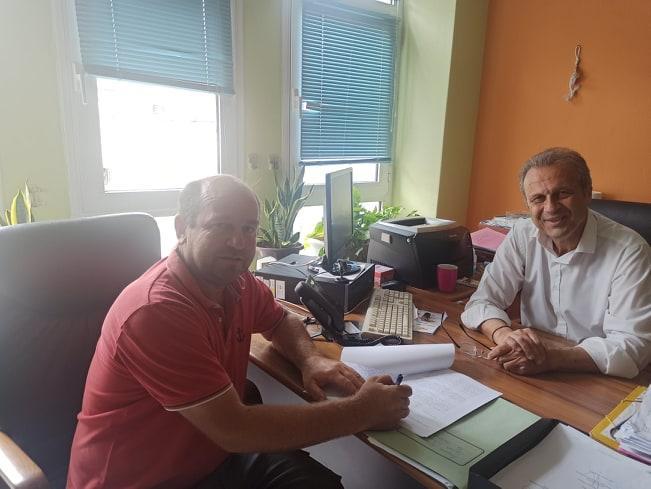 Ξεκινούν εργασίες συντήρησης κοινόχρηστων χώρων στις Δ.Ε. Βεργίνας και Μακεδονίδας  Υπογράφτηκαν οι σχετικές συμβάσεις από τον Αντιδήμαρχο Τεχνικών Βέροιας