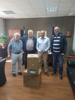 Δωρεά της ΔΕΥΑΒ προς το Γενικό Νομαρχιακό Νοσοκομείο της Βέροιας