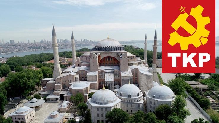 Κομμουνιστικό Κόμμα Τουρκίας: Καταδικάζει την απόφαση μετατροπής της Αγίας Σοφίας σε τζαμί