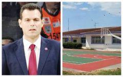 Τρίκαλα Ημαθίας: Ο Δημήτρης Ιτούδης θα εγκαινιάσει το γήπεδο μπάσκετ που δώρισε