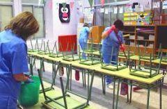 Για τις σχολικές καθαρίστριες