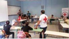 Δημιουργική απασχόληση παιδιών προσφύγων και μεταναστών από το Περιφερειακό Τμήμα Ερυθρού Σταυρού Νάουσας