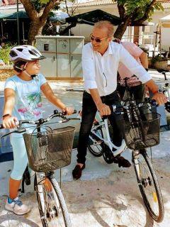 Βέροια: Μπήκαν σε λειτουργία τα δημοτικά ποδήλατα