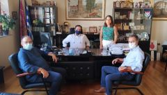 Συνάντηση Δημάρχου Βέροιας με τους νέους Διευθυντές Εκπαίδευσης Ημαθίας
