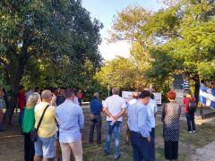 Ομιλία Αντωνίας Χαρίση στην εκδήλωση για την απελευθέρωση της Νάουσας από τον ΕΛΑΣ