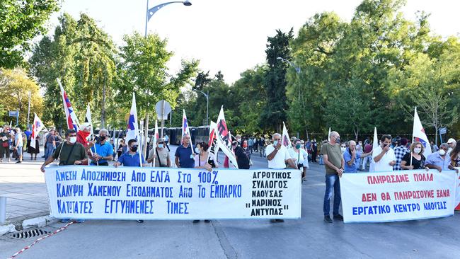 Με Ημαθιώτικη συμμετοχή το συλλαλητήριο στη ΔΕΘ